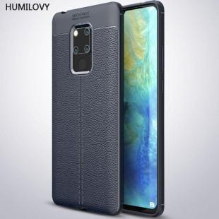 قاب ژله ای طرح چرم هواوی Auto Focus Case Huawei Mate 20X