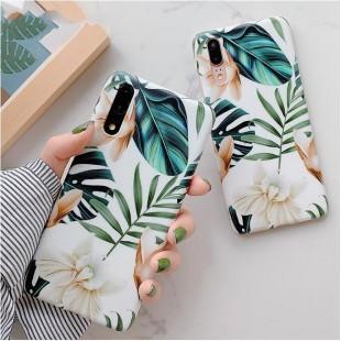 قاب ژله ای طرح برگ سامسونگ Leaf TPU Case Samsung Galaxy Note 10