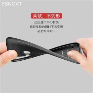 قاب ژله ای طرح چرم هواوی Auto Focus Case Huawei Nova 5i