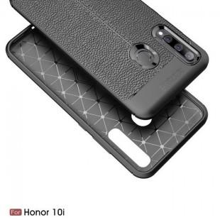 قاب ژله ای طرح چرم هواوی Auto Focus Case Huawei Honor 10i