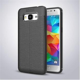 قاب ژله ای طرح چرم سامسونگ Auto Focus Case Samsung Galaxy J2