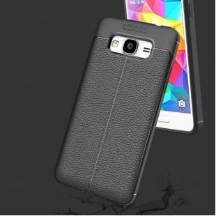 قاب ژله ای طرح چرم سامسونگ Auto Focus Case Samsung Galaxy J3 2016