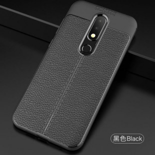 قاب ژله ای طرح چرم نوکیا Auto Focus Case Nokia 4.2