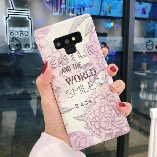 قاب ژله ای طرح گل سامسونگ Flower TPU Case Samsung Galaxy S7 Edge