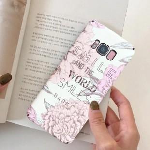 قاب ژله ای طرح گل سامسونگ Flower TPU Case Samsung Galaxy S8