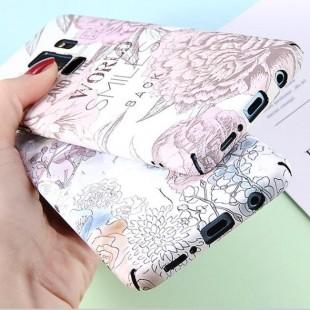 قاب ژله ای طرح گل سامسونگ Flower TPU Case Samsung Galaxy Note 9