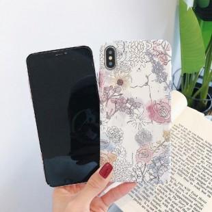 قاب ژله ای طرح گل آیفون Flower TPU Case Apple iPhone Xs Max