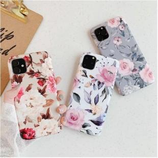 قاب ژله ای گل دار آیفون Flower TPU Case Apple iPhone 11