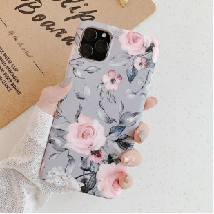 قاب ژله ای گل دار آیفون Flower TPU Case Apple iPhone 11 Pro Max