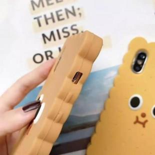 قاب ژله ای طرح بیسکویت آیفون Biscuit Case Apple iPhone X/Xs