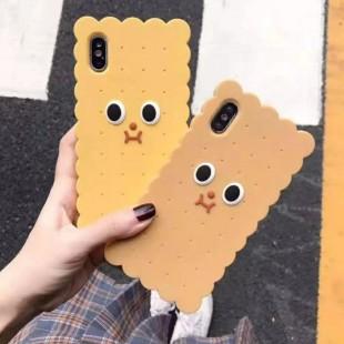 قاب ژله ای طرح بیسکویت آیفون Biscuit Case Apple iPhone Xs Max