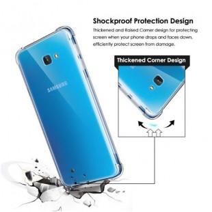 قاب ژله ای شفاف ضدضربه سامسونگ Shockproof Case for Samsung Galaxy J4 Plus