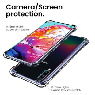 قاب ژله ای شفاف ضدضربه سامسونگ Shockproof Case Galaxy Note 10