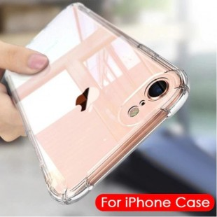قاب ژله ای شفاف ضدضربه آیفون Shockproof Case for iPhone 7