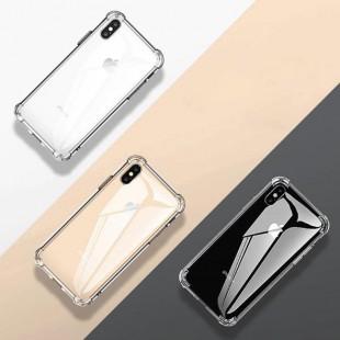 قاب ژله ای شفاف ضدضربه آیفون Shockproof Case for iPhone X