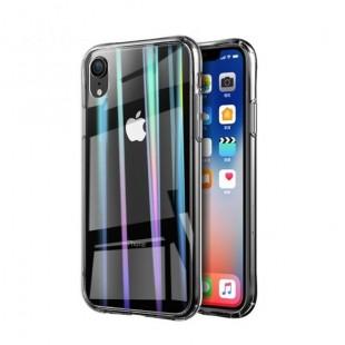 قاب ژله ای لیزری رنگی آیفون Laser Case For Iphone X