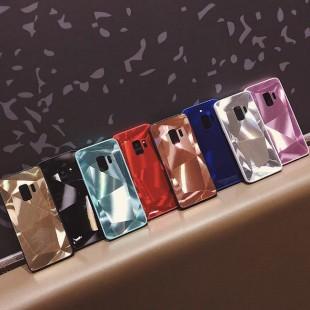 قاب الماسی پشت گلس سامسونگ Diamond Case Samsung Galaxy A6 Plus