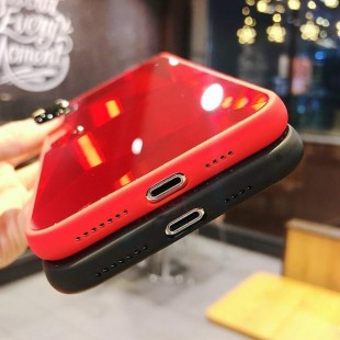 قاب الماسی پشت گلس سامسونگ Diamond Case Samsung Galaxy J6 Plus