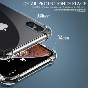 قاب ژله ای شفاف ضدضربه آیفون Shockproof Case for iPhone XS Max