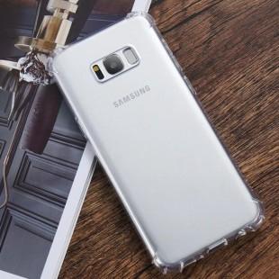 قاب ژله ای شفاف ضدضربه سامسونگ Shockproof Case for Samsung Galaxy S8