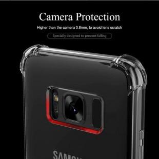 قاب ژله ای شفاف ضدضربه سامسونگ Shockproof Case for Samsung Galaxy S8 PLUS