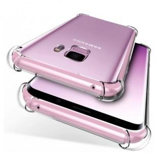 قاب ژله ای شفاف ضدضربه سامسونگ Shockproof Case for Samsung Galaxy S9