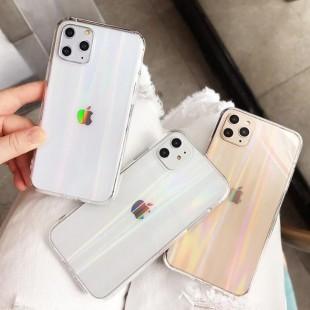 قاب ژله ای شفاف لیزری آیفون TPU Laser Case Apple iPhone 11 Pro Max