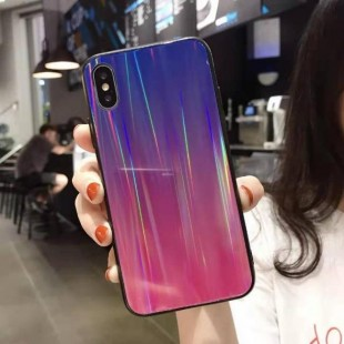 قاب ژله ای لیزری رنگی آیفون Laser Color TPU Case iPhone 6 Plus