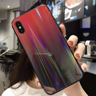 قاب ژله ای لیزری رنگی آیفون Laser Color TPU Case iPhone 7