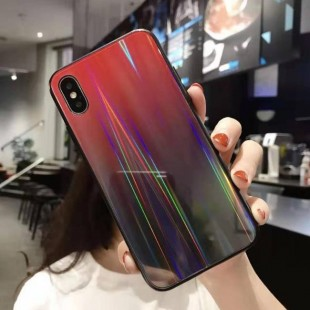قاب ژله ای لیزری رنگی آیفون Laser Color TPU Case iPhone 7 Plus