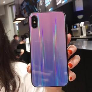 قاب ژله ای لیزری رنگی آیفون Laser Color TPU Case iPhone X/Xs