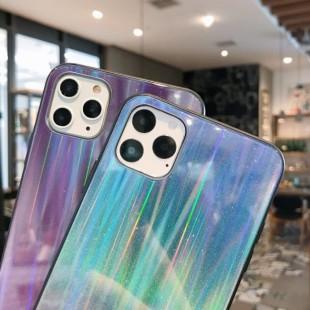 قاب ژله ای لیزری رنگی آیفون Laser Color TPU Case iPhone 11