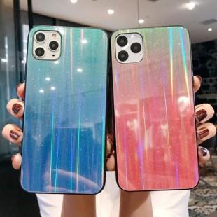قاب ژله ای لیزری رنگی آیفون Laser Color TPU Case iPhone 11 Pro