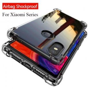 قاب ژله ای شفاف ضدضربه شیائومی Shockproof Case for Xiaomi Redmi Note 7 Pro
