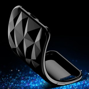 قاب ژله ای برجسته الماسی Diamond Case Samsung Galaxy A7 2018