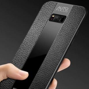قاب چرمی آینه ای سامسونگ Leather Mirror Samsung Galaxy S8