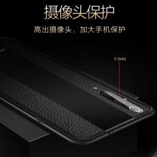 قاب چرمی آینه ای سامسونگ Leather Mirror Samsung Galaxy A7 2018