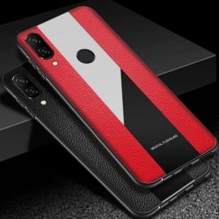 قاب چرمی آینه ای هواوی Leather Mirror Huawei Honor 8X