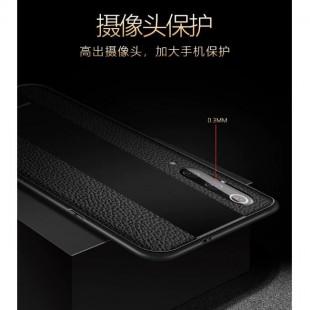 قاب چرمی آینه ای سامسونگ Leather Mirror Samsung Galaxy A50