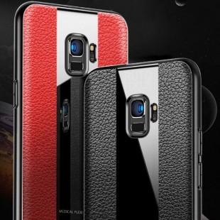 قاب چرمی آینه ای سامسونگ Leather Mirror Samsung Galaxy S9 Plus