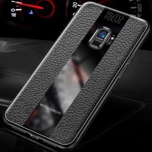 قاب چرمی آینه ای سامسونگ Leather Mirror Samsung Galaxy J6