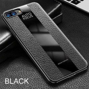 قاب چرمی آینه ای آیفون Leather Mirror Apple iPhone 7