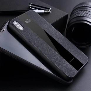 قاب چرمی آینه ای آیفون Leather Mirror Apple iPhone Xr