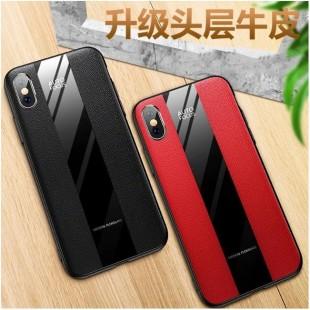 قاب چرمی آینه ای آیفون Leather Mirror Apple iPhone Xs Max