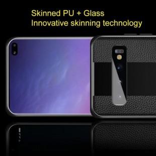 قاب چرمی آینه ای سامسونگ Leather Mirror Samsung Galaxy S10