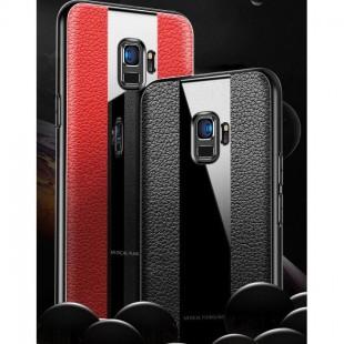 قاب چرمی آینه ای سامسونگ Leather Mirror Samsung Galaxy J4 Plus