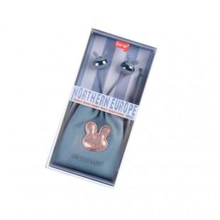 هندزفری با کیف طرح خرگوش ایرسیر Earsir E-178