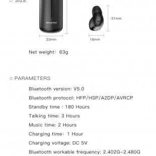 هندزفری بلوتوثی اوی مدل Awei T5