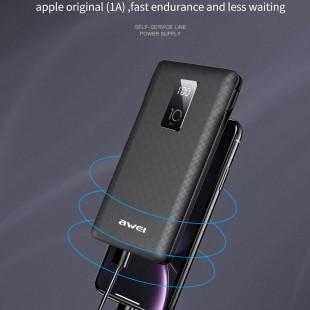 پاوربانک 10000 میلی آمپر اوی مدل Awei P8K