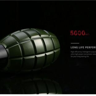 پاوربانک 5000 میلی آمپر طرح نارنجک ریمکس مدل Remax RPL-28